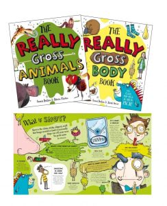 Really Gross Body and Animals Books